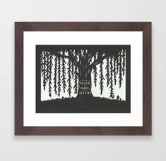 This papercut is a perfect for a (paper) or (willow) wedding anniversary gift! It is a unique custom made-to-order artwork, with the initials of the happy couple carved into the tree. This is a machine cut papercut, finished by hand. The design. 9 Year Anniversary, Wood Anniversary Gift, Willow Wood, Willow Tree, Paper Cutting, Etsy Vintage, Bag Display, Unique Lighting, Decoration