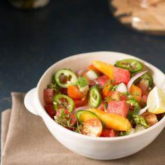 Watermelon Jalapeno Salad