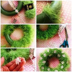 Happy Easter, Crafts, Home Decor, Easter Crafts, Diy And Crafts, Tissue Poms, Pipe Cleaners, Plants, Amigurumi