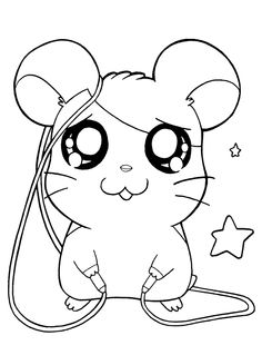 Animal Coloring Videos Fresh Hamtaro Coloring Pages Tv Series Coloring Pages Scary Coloring Pages, Barbie Coloring Pages, Animal Coloring Pages, Colouring Pages, Coloring Books, Coloring Sheets, Art Drawings For Kids, Cartoon Drawings, Cute Drawings