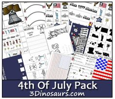 Free 4th of July Preschool Printable Pack - Money Saving Mom®