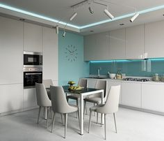 Interior and Decor Kitchen Room Design, Modern Kitchen Design, Home Decor Kitchen, Interior Design Living Room, Home Kitchens, Living Room Designs, Cuisines Design, Home And Deco, Home Remodeling