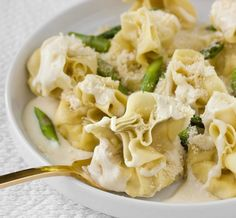 Fiocchetti with Pears and Parmesan Cream