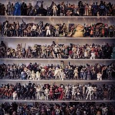 Ok now im not that crazy over Star Wars Action Figures....but imagine if did have them all. Amazing!!!