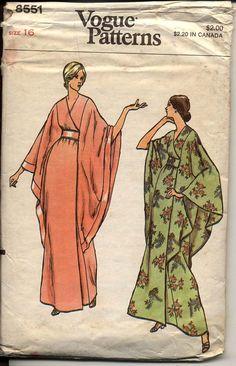 Kimono style robe