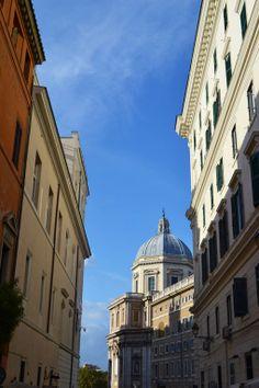 Blue sky Italy