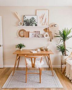 Home Living, Living Room Decor, Bedroom Decor, Blogger Home, Bohemian Wall Decor, Dining Nook, Scandinavian Home, My New Room, Home Office Decor