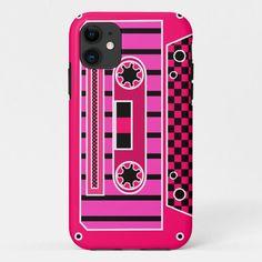 Pink Cassette Tape Case-Mate iPhone Case