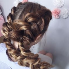 Wedding hairstyle for long hair, wedding updo