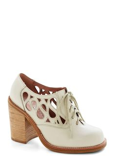 d256f01ceff2f0 Squiggle Room Heel by Jeffrey Campbell - White