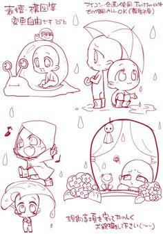 Anime Drawings Sketches, Kawaii Drawings, Cute Drawings, Chibi Sketch, Anime Sketch, Chibi Body, Anime Poses Reference, Poses References, Art Poses