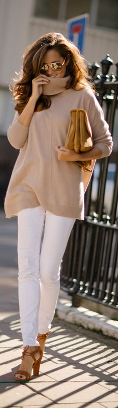 Camel Cashmere / Fashion By The Londoner