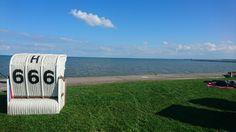 Strandkörbchen 😈 Horumersiel