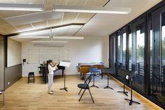 Conservatorio de Música en el Distrito 17 de Paris,© Sergio Grazia