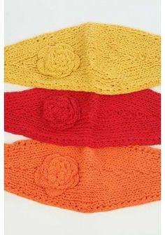 $5.95 Rosette Knit Headband - kiwilook