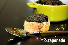 SALSA TÁRTARA - LAS SALSAS DE LA VIDA Tapenade, Gazpacho, Canapes, Vegan Recipes, Pudding, Salsa Tártara, Desserts, Sauces, Food