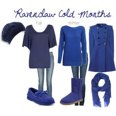 Ravenclaw Cold Months, created by nearlysamantha on Polyvore