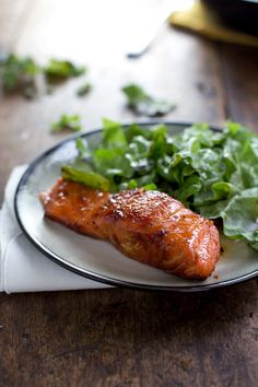 Caramelized Salmon: this recipe looks so good and is sooo easy! Put any veggies on the side and you've got a perfect meal