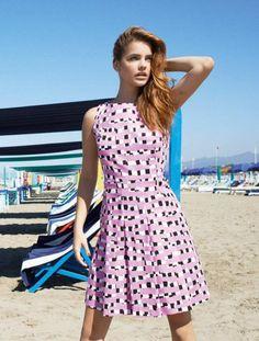 Barbara Palvin � iiBlues Collection / Spring � Summer 2014