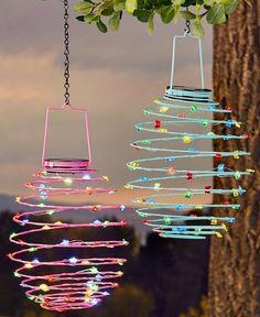Solar Light Crafts, Solar Lights, Diy And Crafts, Crafts For Kids, Paper Crafts, Kids Diy, Summer Crafts, Rock Crafts, Handmade Home Decor