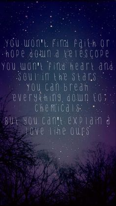 The Script - Science and Faith. one of my favorite songs from them. :)