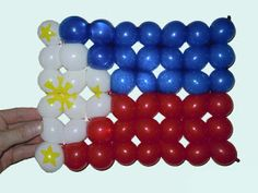 How to make balloon animals using modeling balloons and balloon twisting techniques. Themed Parties, Party Themes, World Day Of Prayer, Philippines Flag, How To Make Balloon, Balloon Animals, Filipino, Independence Day, Puerto Rico