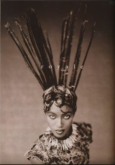 Naomi Campbell by Paolo Roversi.