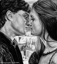 Harry and Ginny by Fantaasiatoidab.deviantart.com on @deviantART