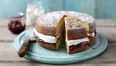 Regular Sponge Cake - BBC #spongecake #dessert