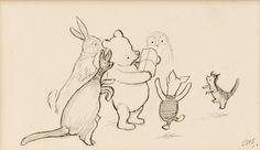 winnie the pooh original drawings - Пошук Google