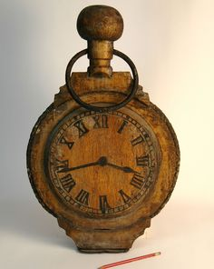 Antique #Wooden #Handmade Watch Maker's Trade Sign >> http://ift.tt/29ktqUa