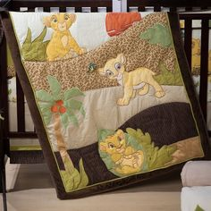 The Lion King Bedding Set. Simba and Nala will join your little one as he sets off on a bedtime adventure.