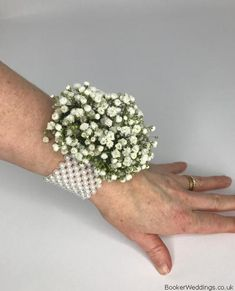 Wedding Flowers Liverpool, Merseyside, Bridal Florist, Booker Flowers and Gifts, Booker Weddings Wrist Corsage Wedding, Flower Delivery, Bridesmaid Bouquet, Wedding Trends, Natural Gemstones, Mother Of The Bride, Liverpool, Gypsophila, Rustic Wedding
