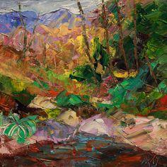 Rio  oil on canvas 25x25 cm.