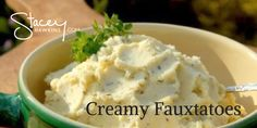 Creamy Mashed Fauxtatoes- a Lean and Green Recipe