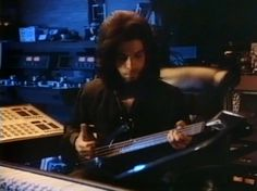 Prince playing bass at Paisley Park 1988