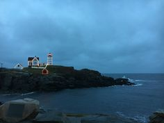 Nubble Light, York Maine York Maine, Seattle Skyline, Ocean, Travel, Voyage, Sea, Viajes, Traveling, Trips