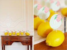lemon escort ideas | VIA #WEDDINGPINS.NET