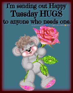 Good Morning Sister Quotes, Good Morning Hug, Happy Tuesday Morning, Happy Weekend Quotes, Good Morning Funny Pictures, Happy Tuesday Quotes, Tuesday Humor, Morning Gif, Monday Blessings