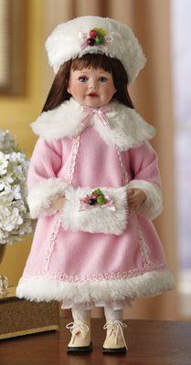 Darling Darlene Collectible Winter Porcelain Doll