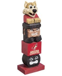 Evergreen Enterprises Arizona Coyotes Tiki Totem - Red