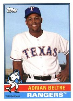 2015 Topps Archives #195 Adrian Beltre Front