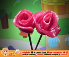 Rose Lollypop at LollyTalk.