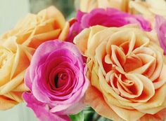 Love the pastel shades for the summer, of course some roses for a little inspiration.