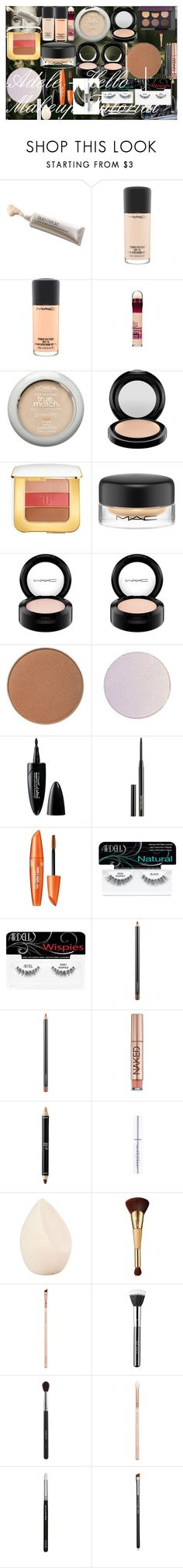 Adele - Hello | Makeup Tutorial by oroartye-1 on Polyvore featuring beauty, MAC Cosmetics, Tom Ford, Laura Mercier, tarte, Sigma, Chanel, Inglot, Urban Decay and Christian Dior