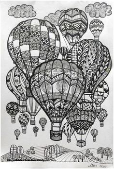 27 Creative Image of Doodle Art Coloring Pages . Doodle Art Coloring Pages Doodle Art Coloring Pages Hot Air Balloons Doodle Art Doodle And Doodle Art Drawing, Zentangle Drawings, Mandala Drawing, Drawing Sketches, Art Drawings, Mandala Sketch, Drawing Ideas, Doodles Zentangles, Tattoo Sketches