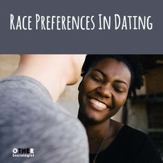 We know that because there are patterns. You talked about the patterns on dating  apps. There are patterns in which people couple more generally, ...