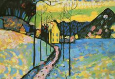 Paintings and more: Romanticism and modernism from the north - Wassily Kandinsky
