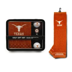 Texas Longhorns Golf Gift Set with Towel #TexasLonghorns