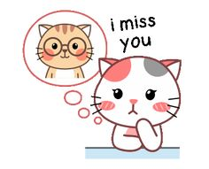 Cute Cartoon Images, Cute Cartoon Drawings, Cute Love Cartoons, Cartoon Memes, Cartoon Art, Funny Images, Tu Me Manques, Hug Gif, Cat Emoji
